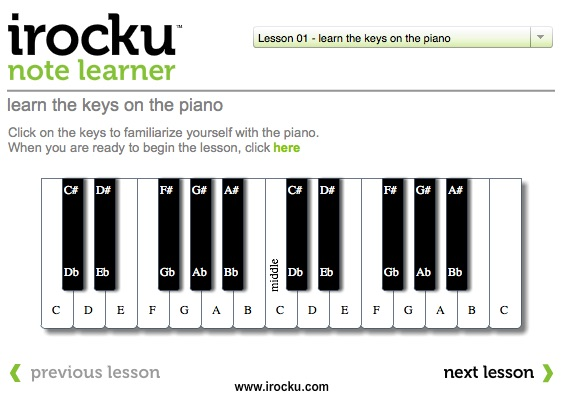 Piano Note Learner - IROCKU