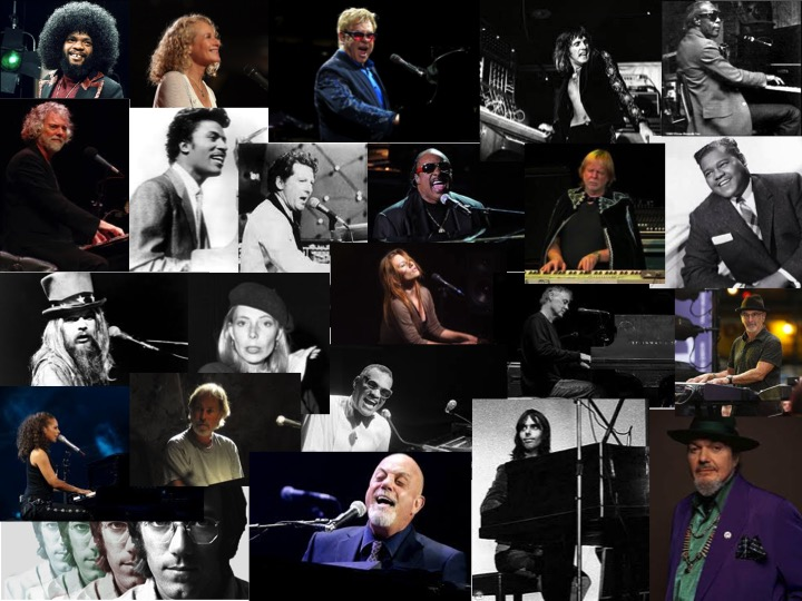 Greatest Rock Piano Players