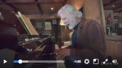 "Chuck Leavell jamming on ""Losing Hand"" by his musical hero Ray Charles."