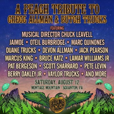 Chuck Leavell Leading Tribute to Butch Trucks and Gregg Allman at Peach Festival