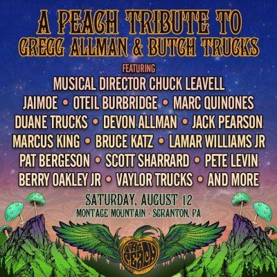 Peach Festival Gregg Allman Tribute 2017