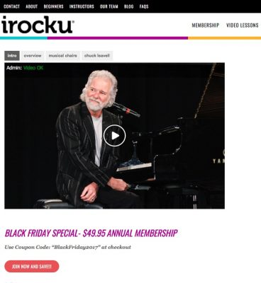 Black Friday Special – Online Piano Lessons