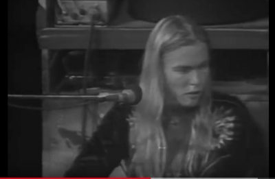 "This week's piano lesson is ""Midnight Rider"" by Gregg Allman."