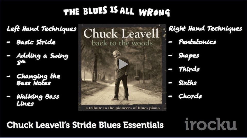 Chuck Leavell's Stride Blues Essentials
