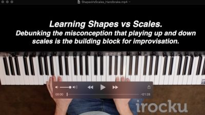 Debunking the misconception that Improvisation is running up and down scales.