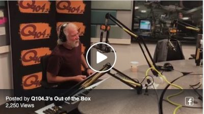 Chuck Leavell Interview- Q104.3 'Out of the Box'