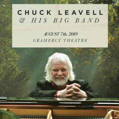 Chuck Leavell and His Big Band- New Date- August 7