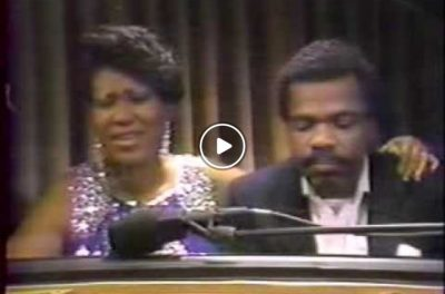 "Aretha Franklin and Billy Preston – ""O Holy Night"""