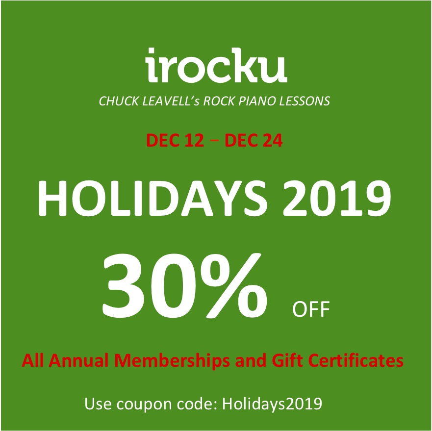 Holiday Special - 30% Off