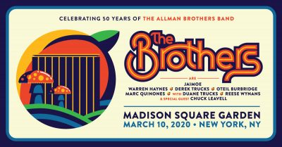 Allman Brothers 50th Anniversary and Tribute Show