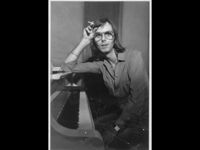 """Rare Nicky Hopkins video laying down tracks for """"Sympathy for the Devil"""""""