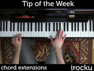 IROCKU Piano Tips – Chord Extensions