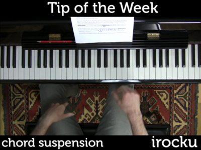 IROCKU Piano Tip – Chord Suspensions