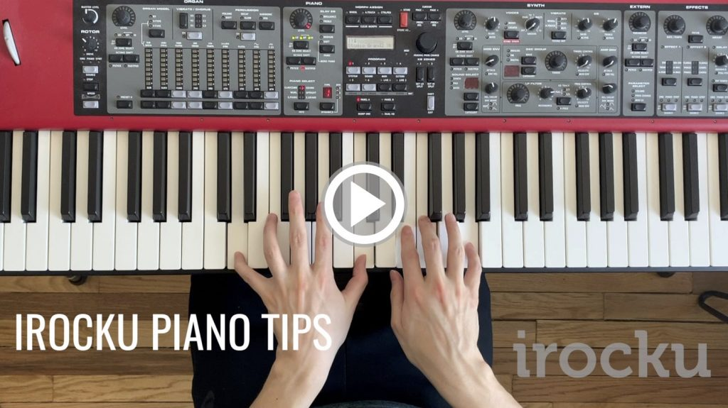 IROCKU Piano Tips