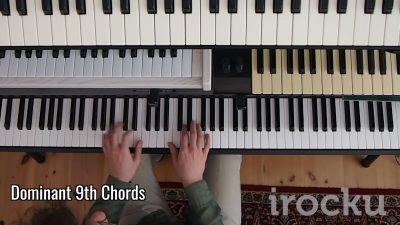 IROCKU Piano Tip – Dominant 9th Chords