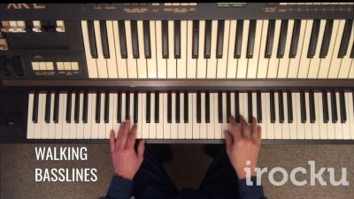 IROCKU Piano Tip – Walking Bass Lines