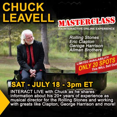 Chuck Leavell Masterclass- Sat. July 18