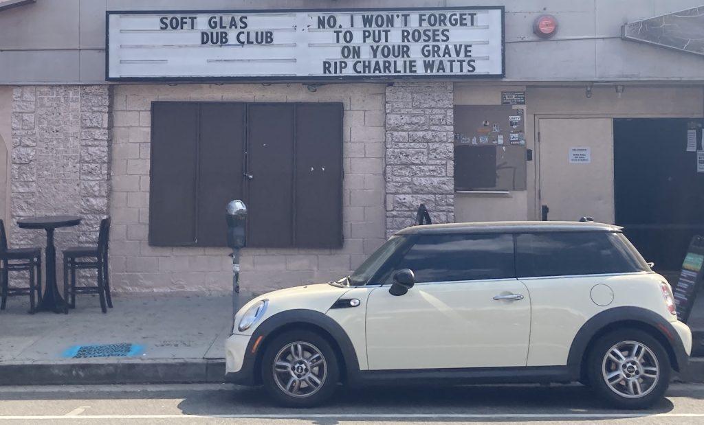 Photo taken 8/25/21. The Echo nightclub, Sunset Blvd
